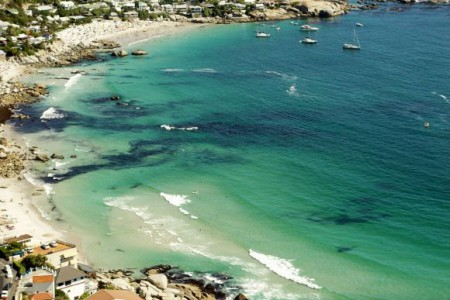 Clear beaches of Cape Town