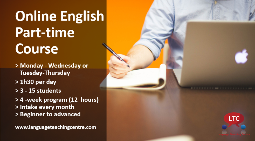 English Online Course (Part-time)